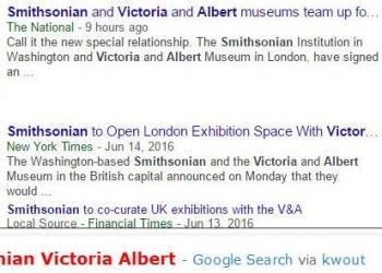 tokSmithsonian Victoria Albert