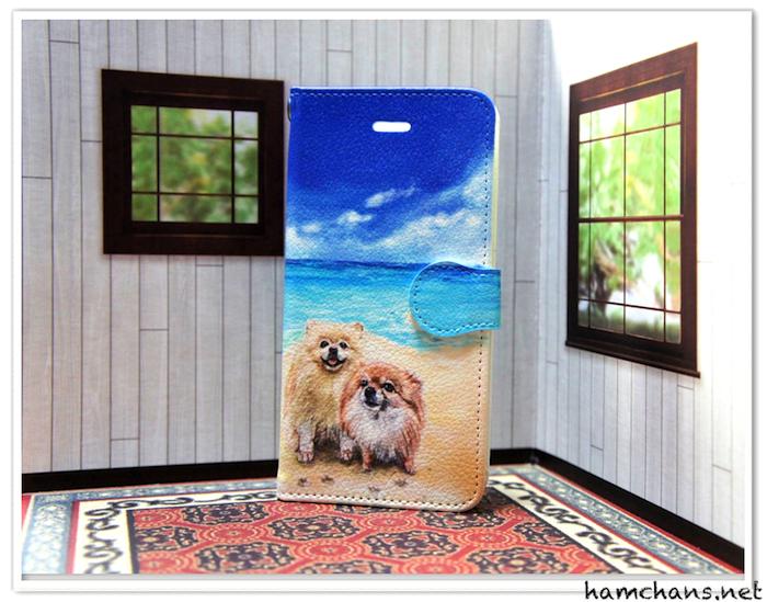ペットのスマホケース犬4