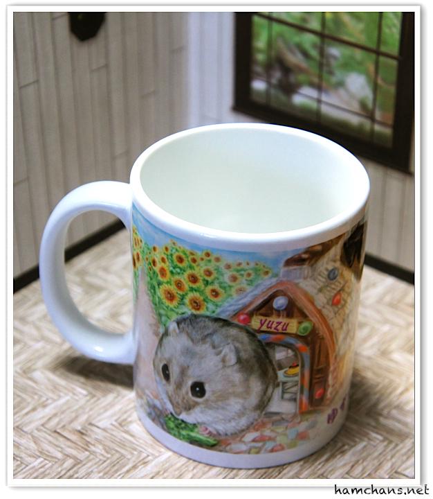 ハムスターのマグカップ2