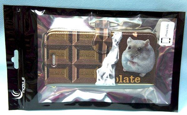 ハムスターのチョコスマホケース2