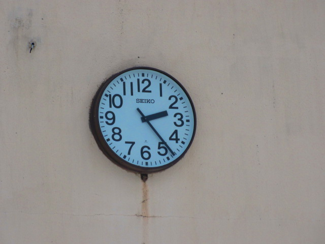 学校時計 001