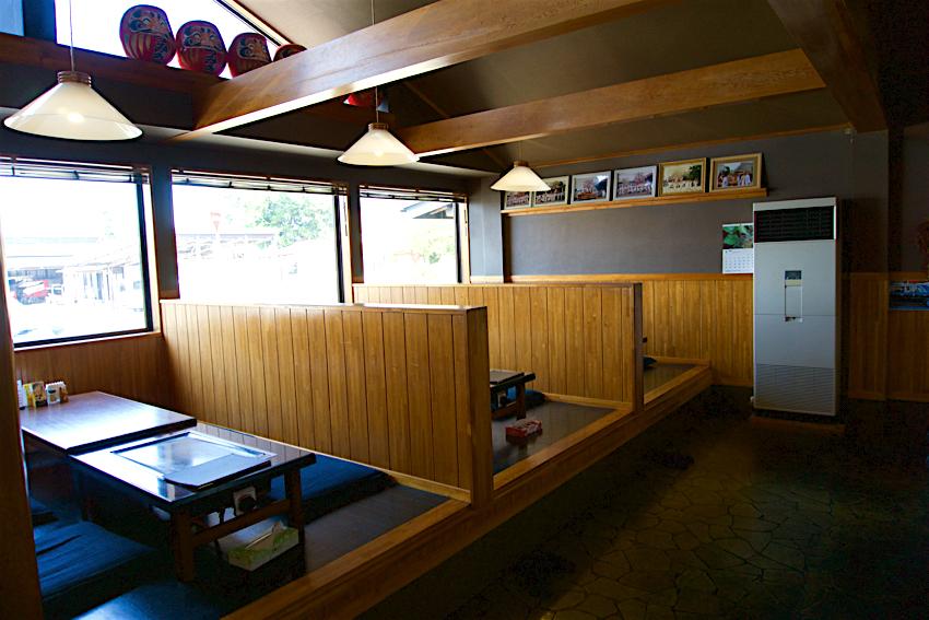 レストランつみき@益子町益子 店内