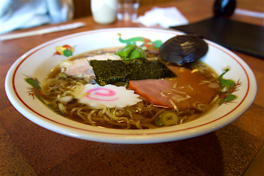 レストランつみき@益子町益子 ラーメン1