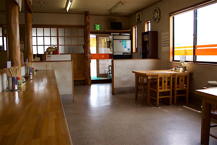 ラーメンレストラン 㐂久乃家@鹿沼市 店内