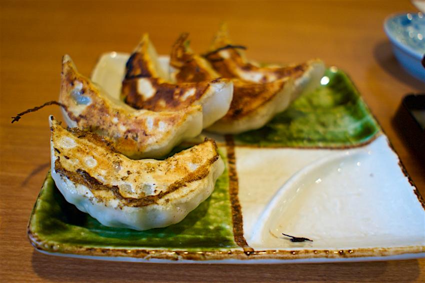 麺屋 鶴と亀@栃木市大平町 餃子
