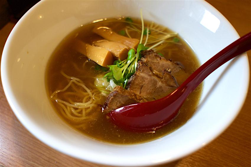 麺屋 鶴と亀@栃木市大平町 煮干し中華そば1
