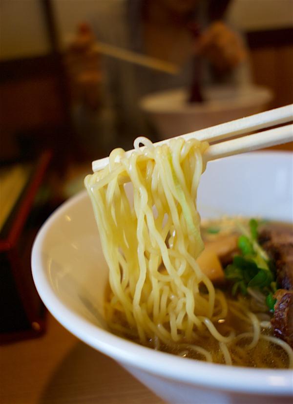 麺屋 鶴と亀@栃木市大平町 煮干し中華そば2