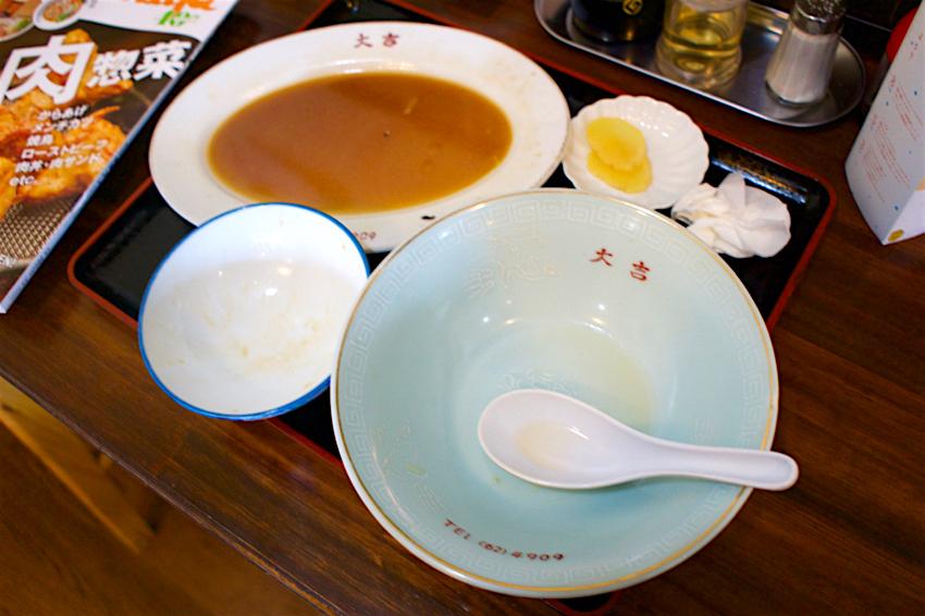 上海料理 大吉@鹿沼市千渡 完食