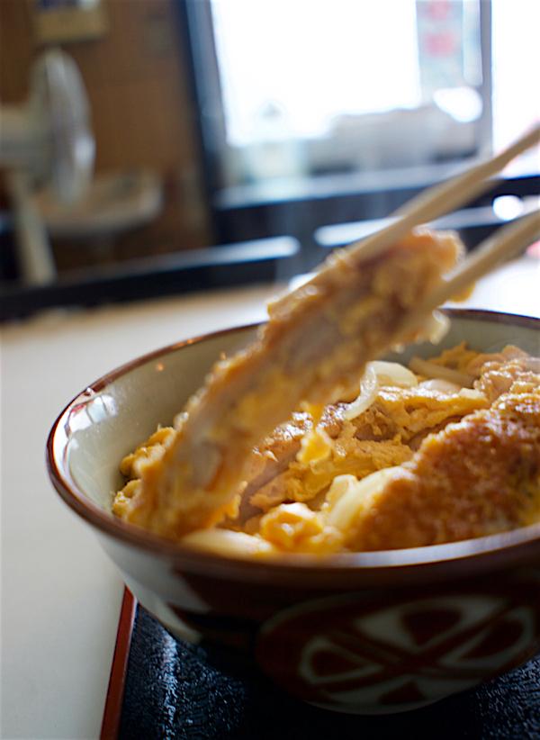 江戸屋食堂@さくら市喜連川 カツ丼と半ラーメン2