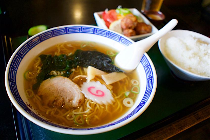 お食事処 きん太@鹿沼市御成橋町 ラーメン 麺セット