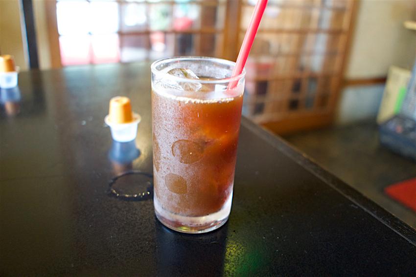 お食事処 きん太@鹿沼市御成橋町 アイスコーヒー