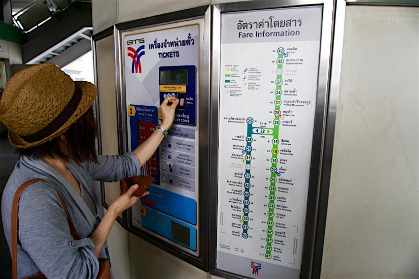 バンコク旅行記 BTSプルンチット駅1