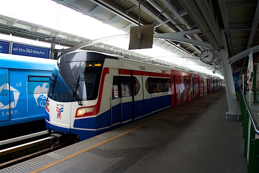バンコク旅行記 BTSプルンチット駅2