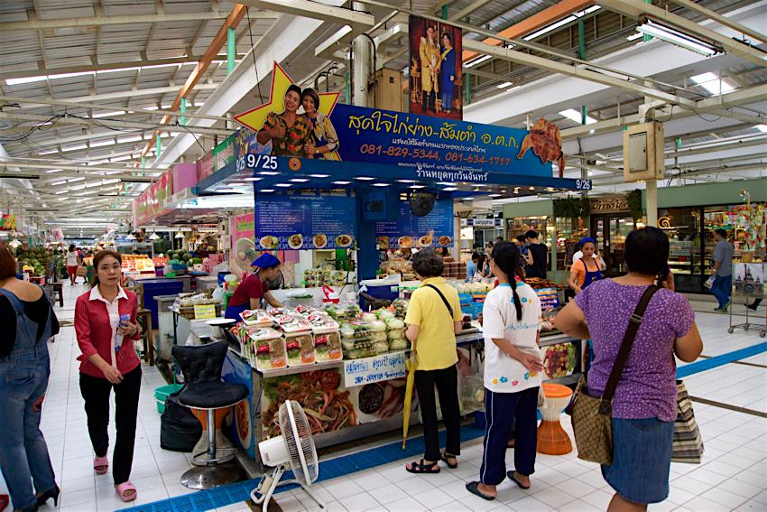 バンコク旅行記 オートーコー市場7