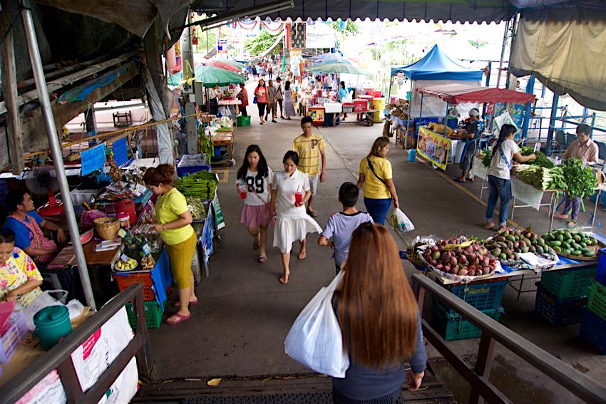 バンコク旅行記 バンプリー百年市場4