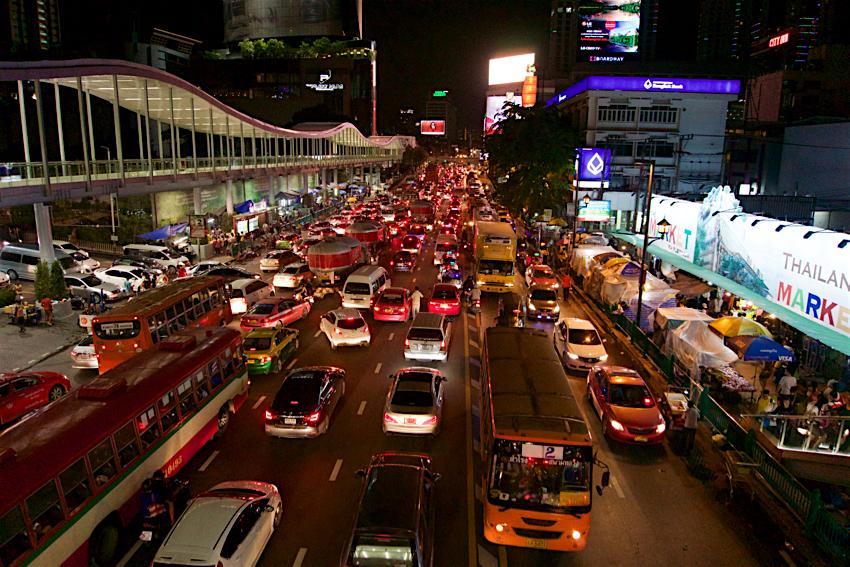 バンコク旅行記 渋滞