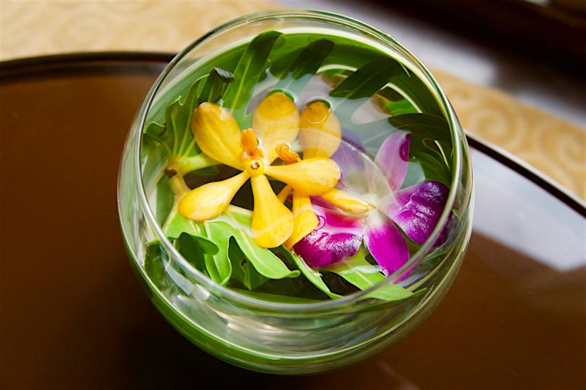バンコク旅行記 ホテルのお花達1