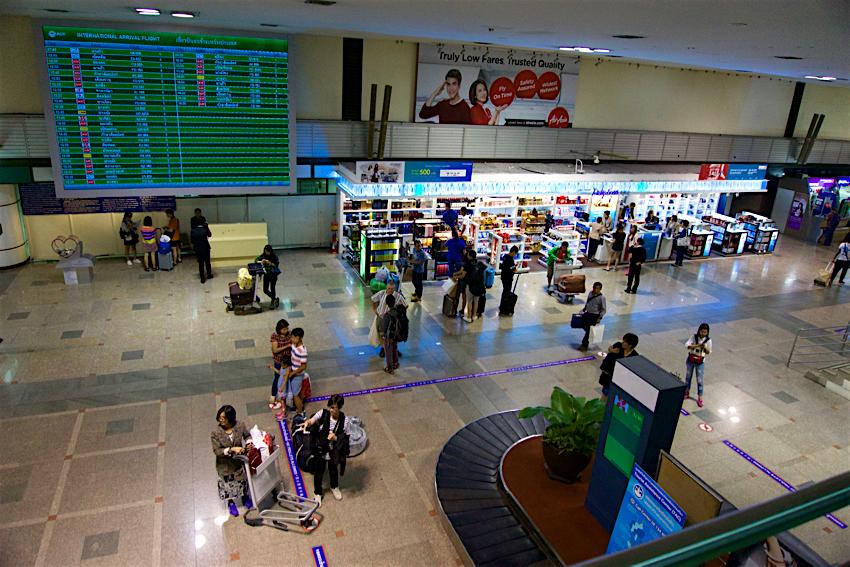 バンコク旅行記 ドンムアン空港