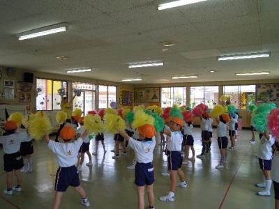 幼稚園向けチア教室