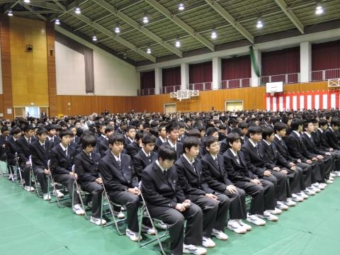 平成28年4月7日石岡第一高等学校「入学式」①