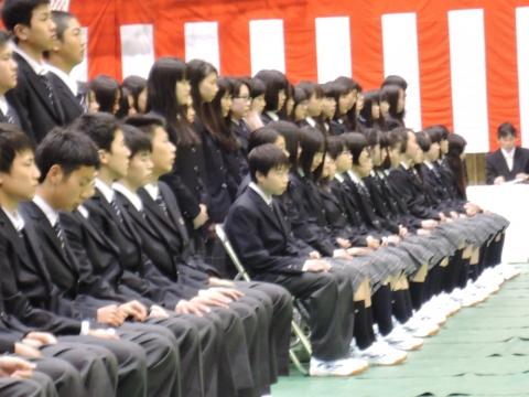 平成28年4月7日石岡第一高等学校「入学式」②
