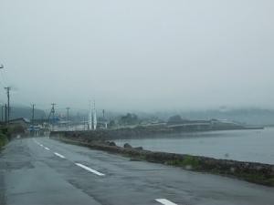 160609雨の津軽半島北端