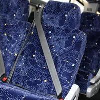 座席のシートベルト
