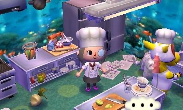 どうぶつの森 汚い 厨房