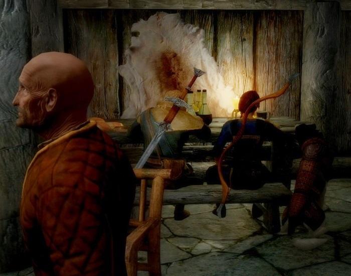 002 宿の中、エルフ家族の団欒