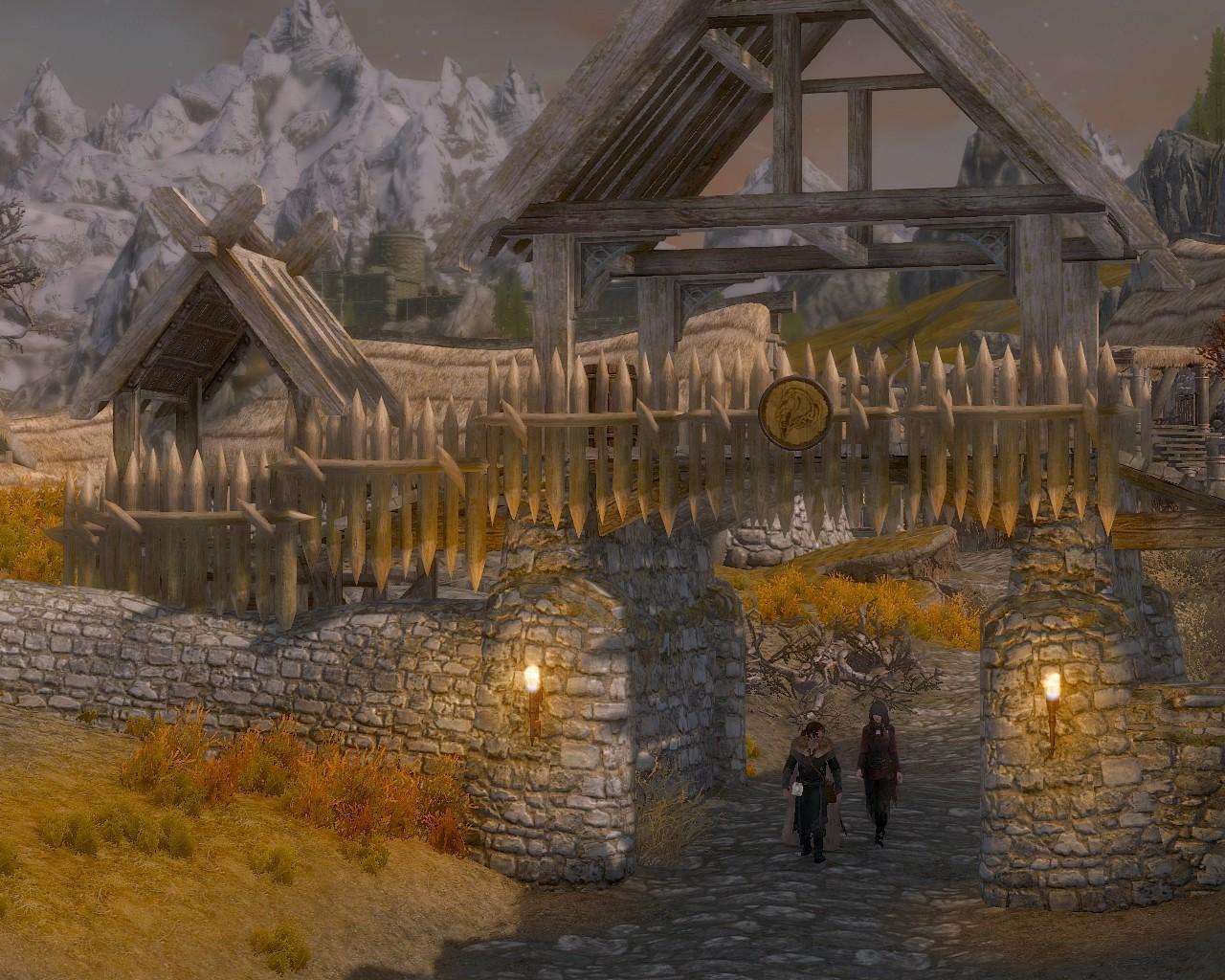 11ロリクステッドの北門