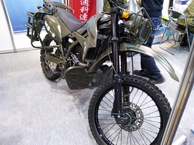 偵察用オートバイ201603