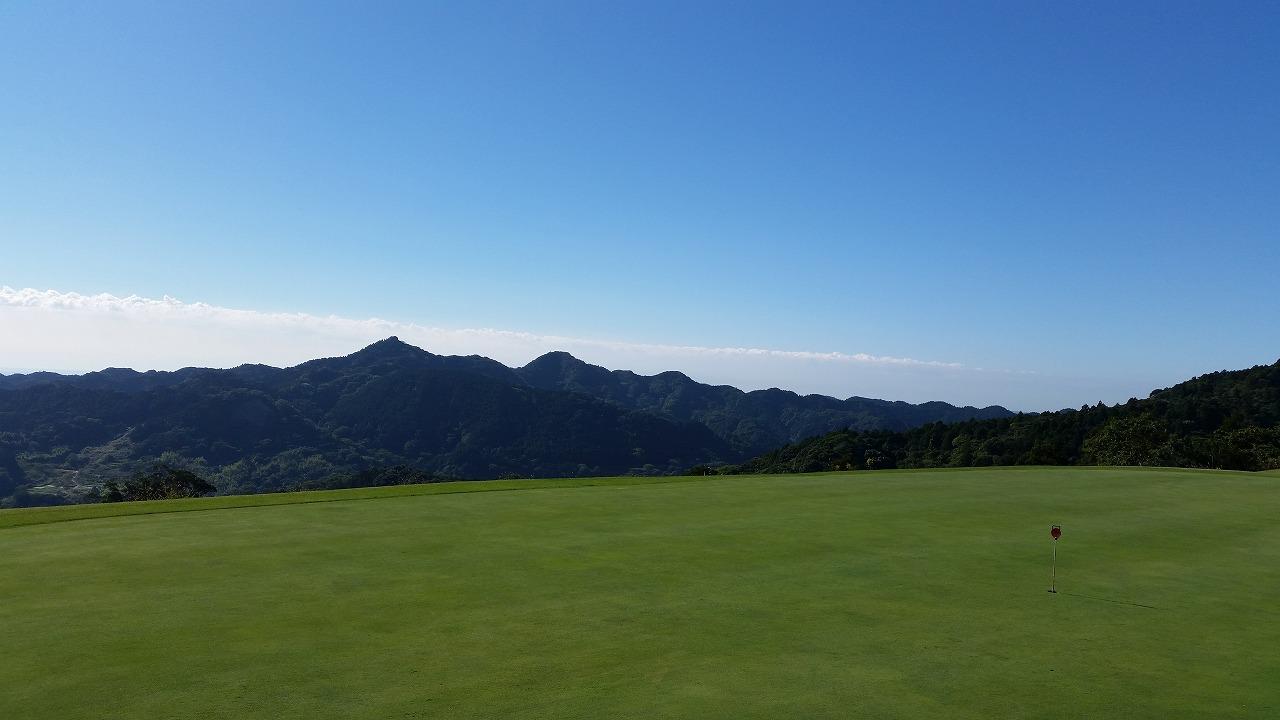茂原ゴルフ場の景色