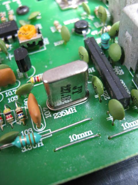 ワイヤレスアンプAK-122(送受信周波数ミスマッチ)診察3
