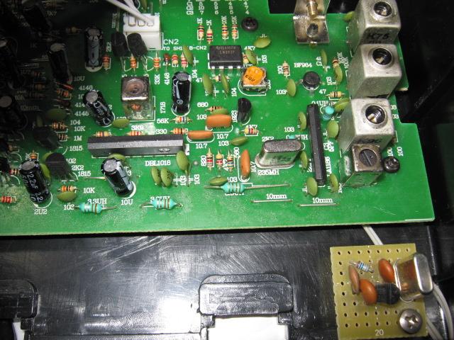 ワイヤレスアンプAK-122(送受信周波数ミスマッチ)治療5