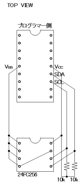 PICプログラマーの製作(24FC1025/1026のサポート)旧