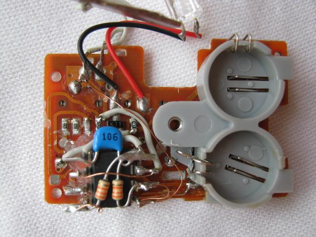 Q-STEER送信機(マイコン換装)3