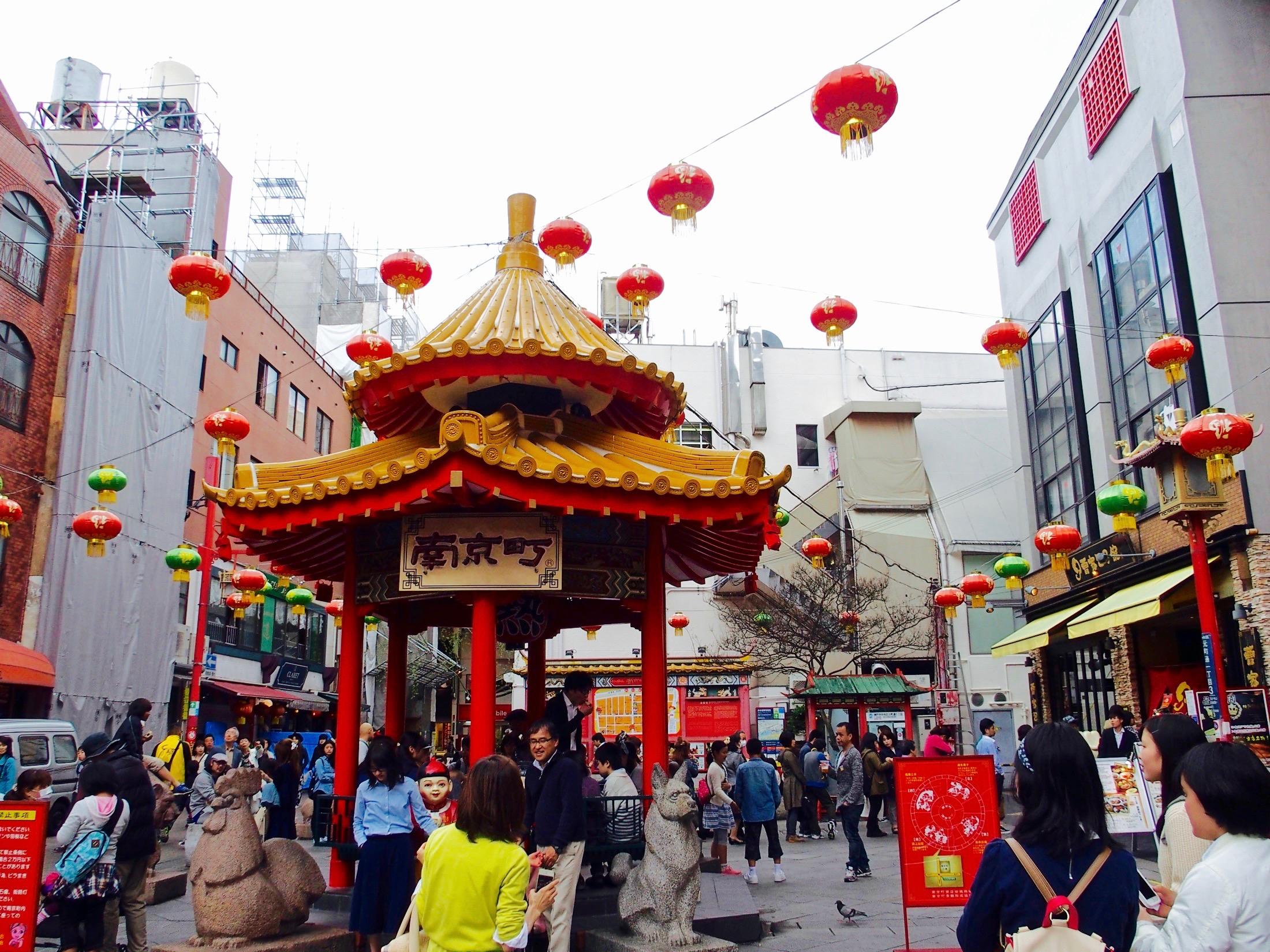 南京町の広場