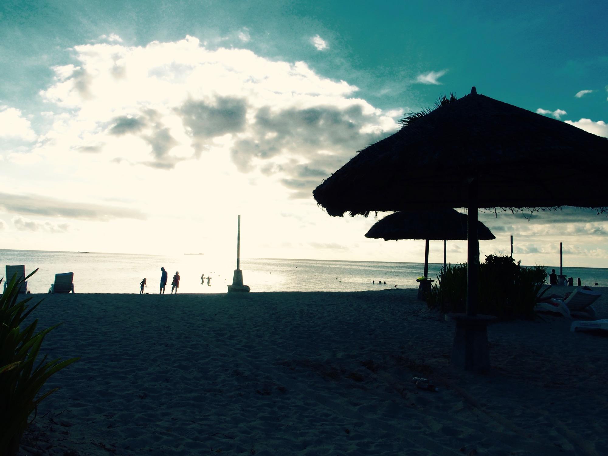 ハイアットのビーチ