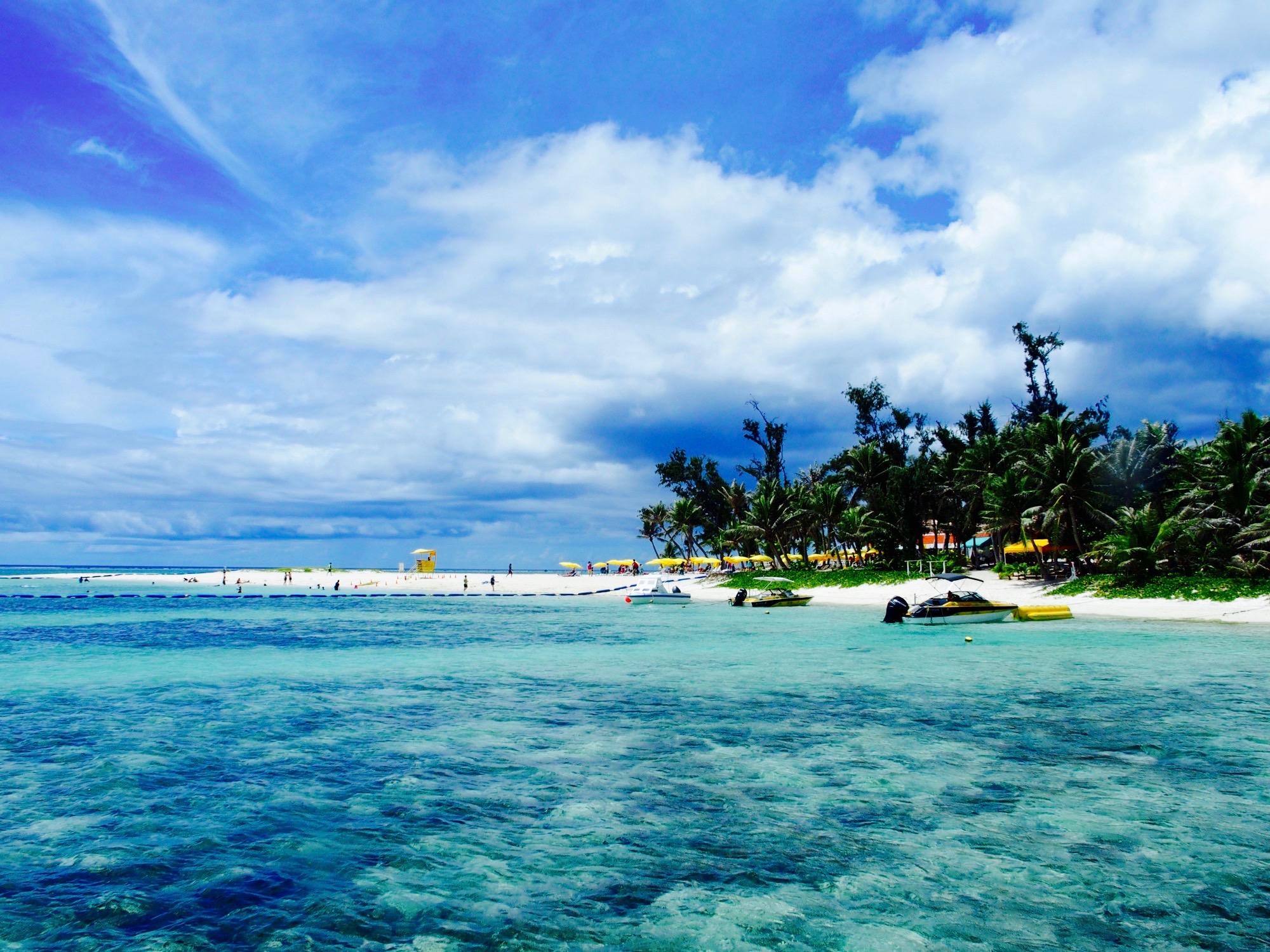 マニャガハ島到着