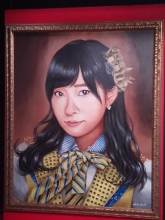 さしこちゃん肖像画