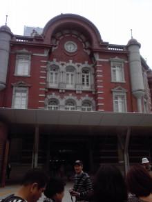 張良の孫のブログ-東京駅ドームの外観