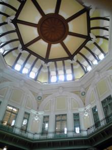 張良の孫のブログ-東京駅ドームの内部