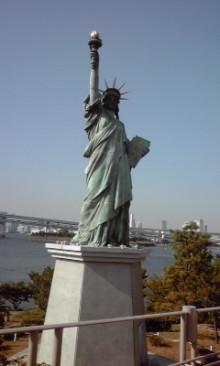 張良の孫のブログ-お台場「自由の女神」