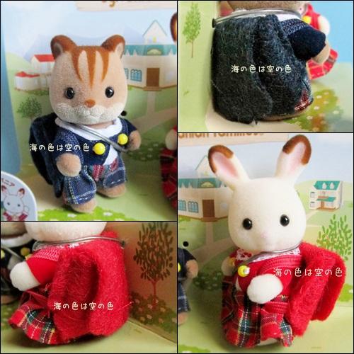 赤ちゃんペアセット(25周年限定)くるみリス&ショコラウサギ