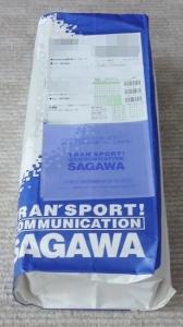 佐川急便の袋に入っていました。