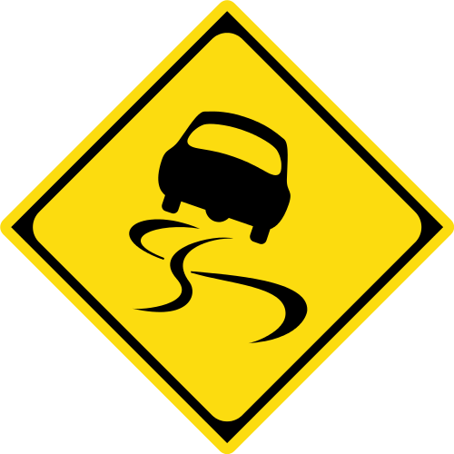 警戒標識の一例