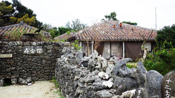 昔の沖縄の家