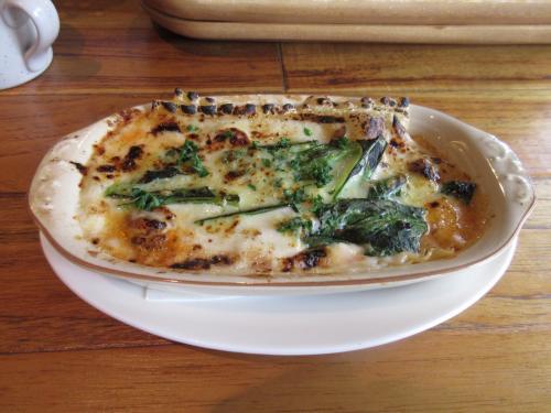 鈴木さんの小松菜のラザニア