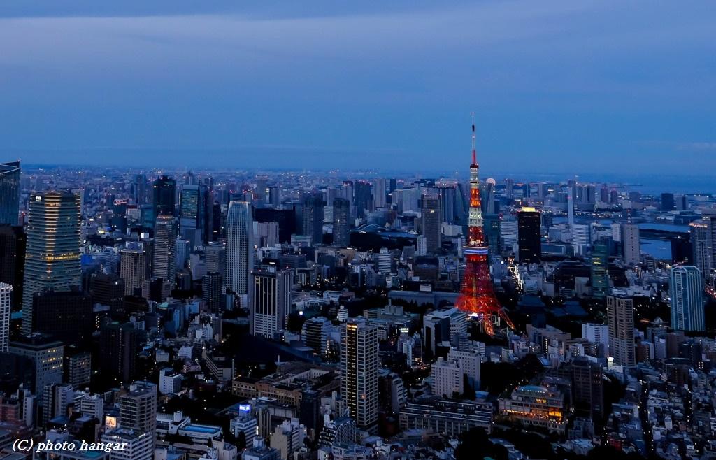 tokyo tower 2016