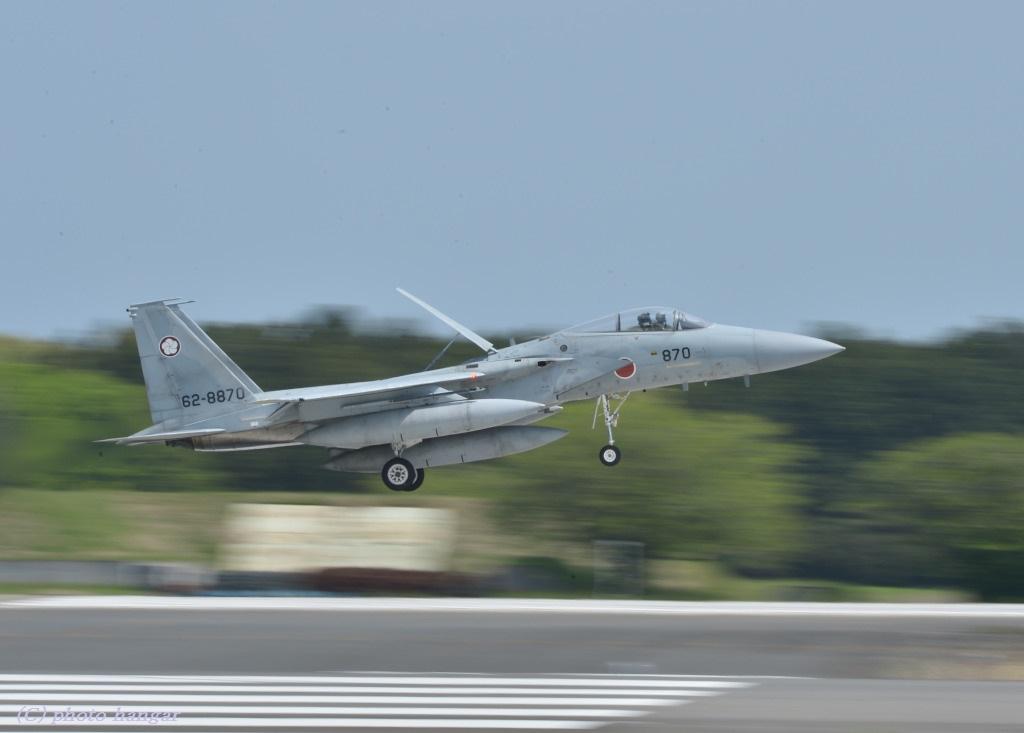 F-15J  ランディング